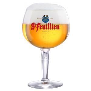 St Feuillien 33cl glass