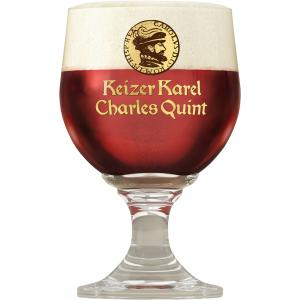 Charles Quint Ruby Red glass