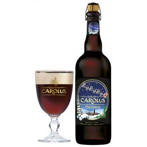 Gouden Carolus Christmas 75cl & glass