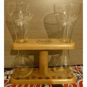 Duo Kwak glass & support